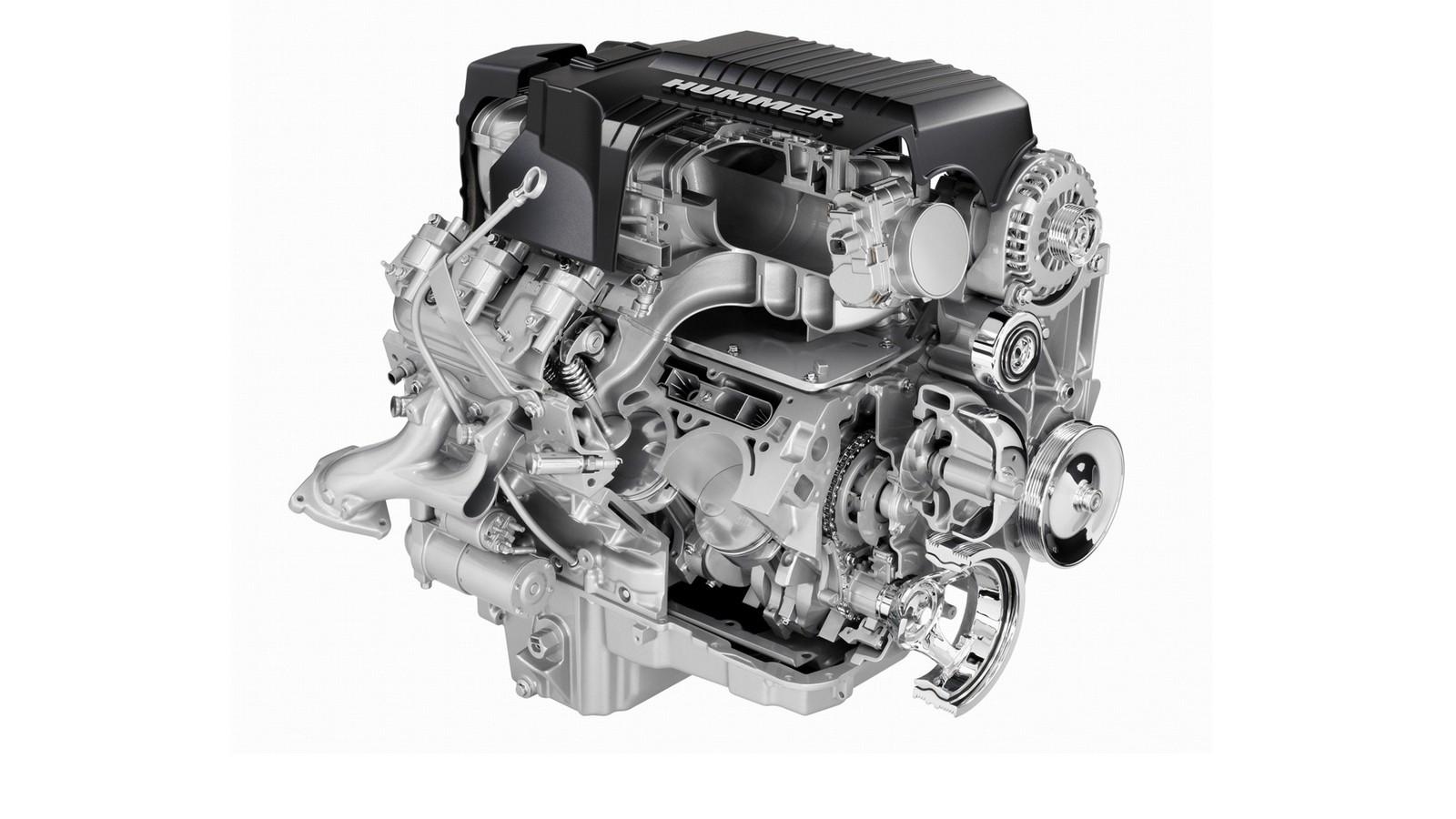 Под капотом 2008–09 Hummer H2 '2007–09