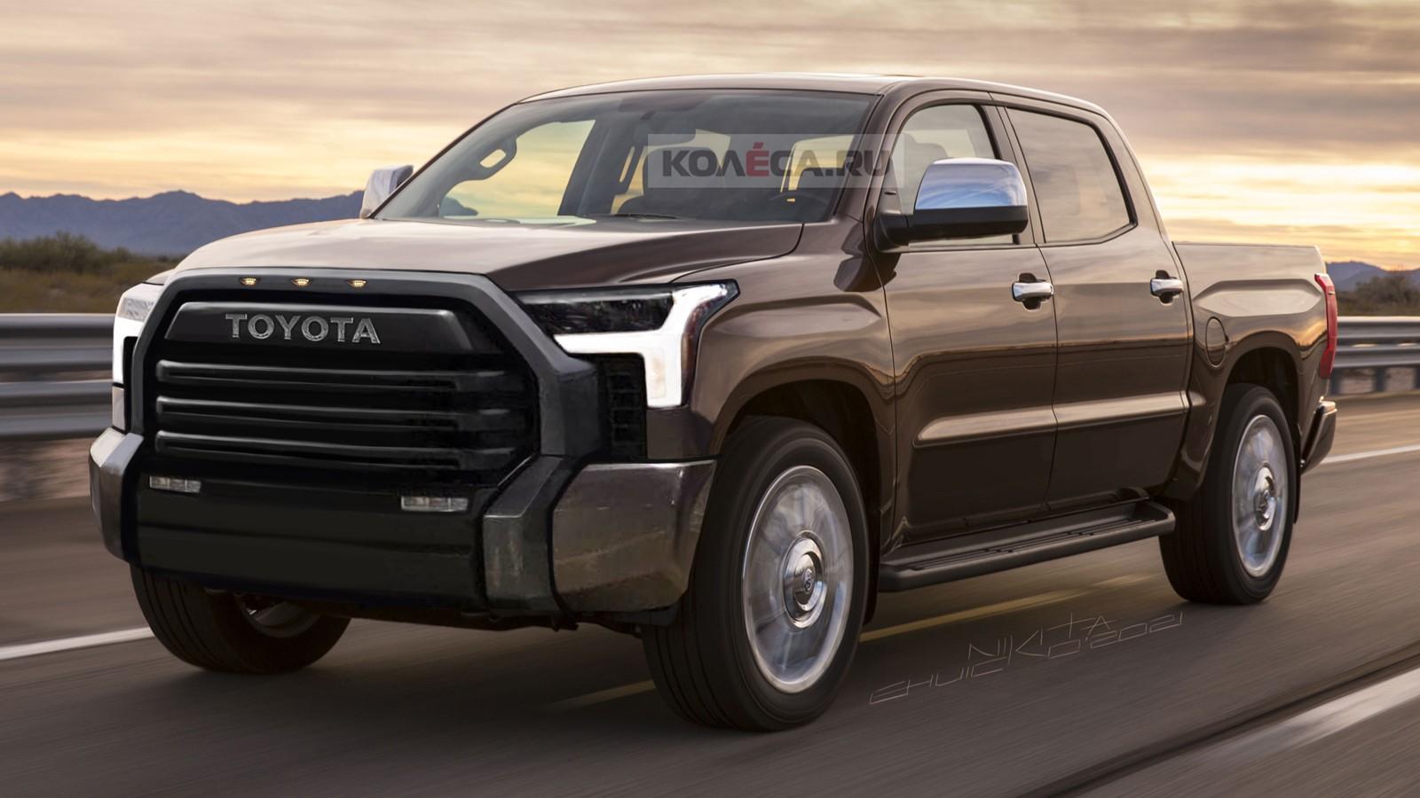 Toyota Tundra следующего поколения: новые изображения