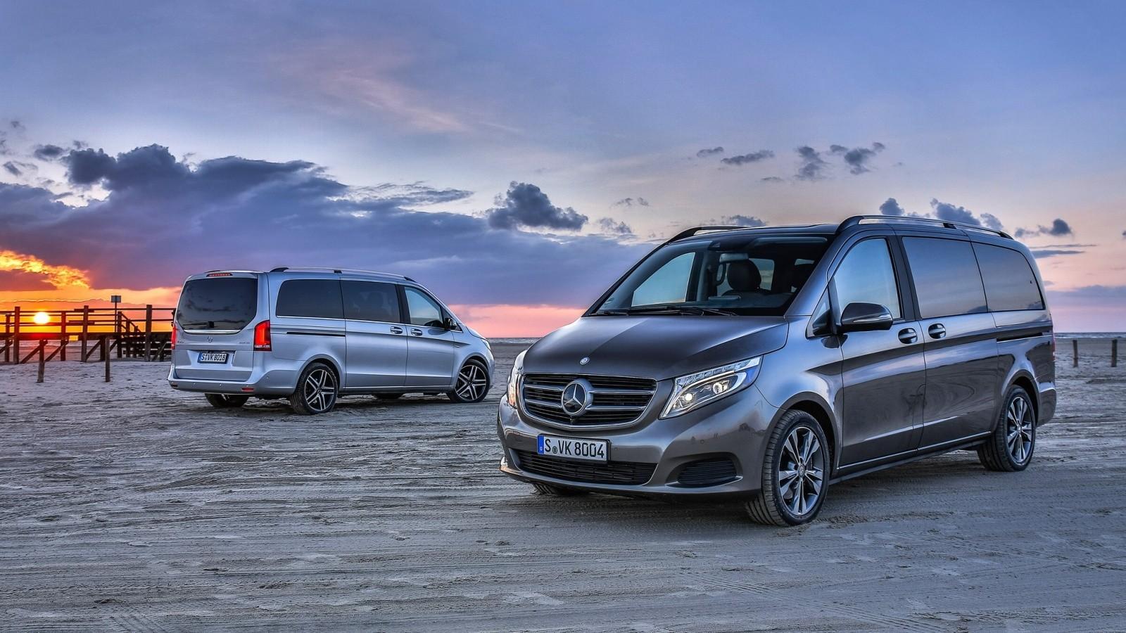 На фото: Mercedes-Benz V-Klasse