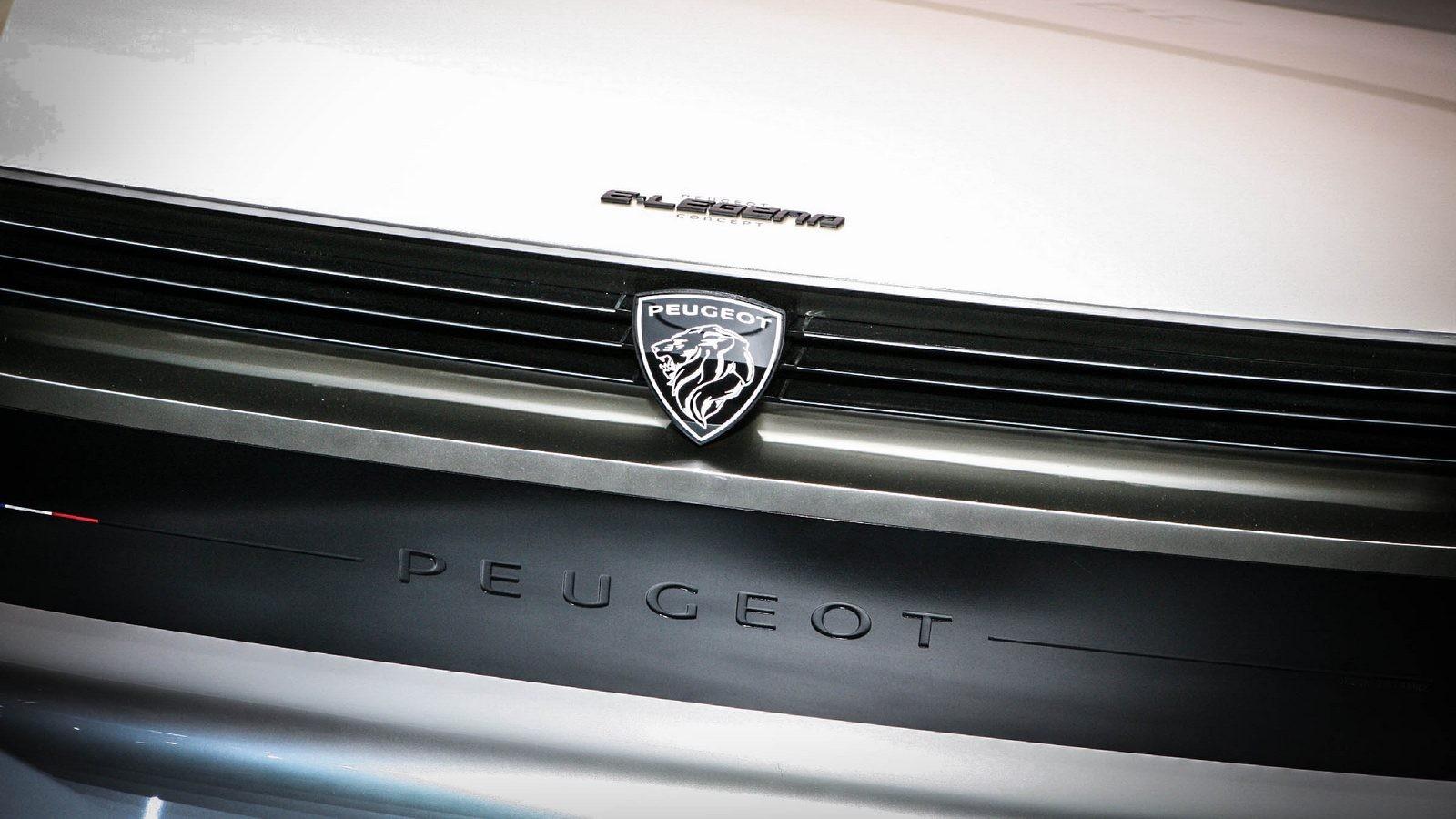 Peugeot e-Legend решетка радиатора