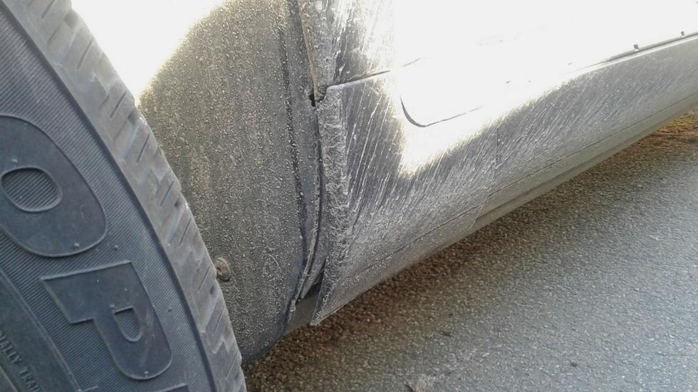 Porsche Cayenne порог