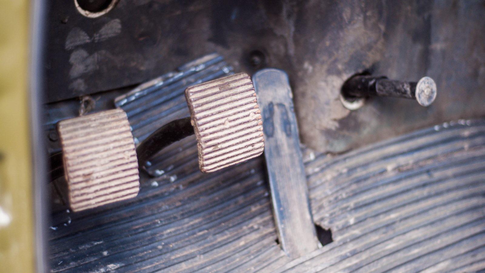 ГАЗ 63 педальный узел