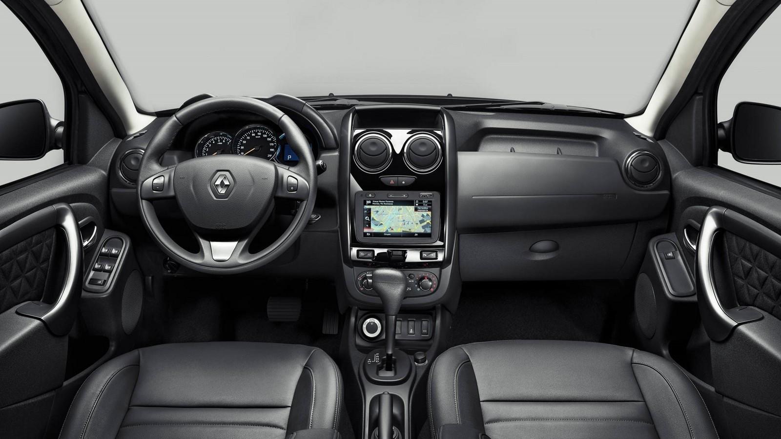 Renault Duster RU-spec '2015–н.в. салон