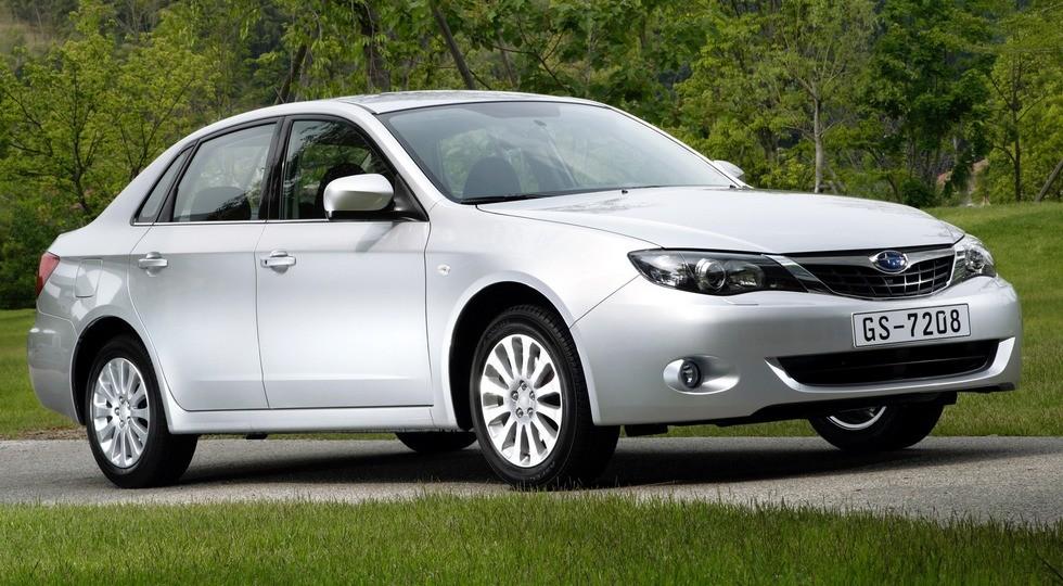 На фото: Subaru Impreza '2008–11