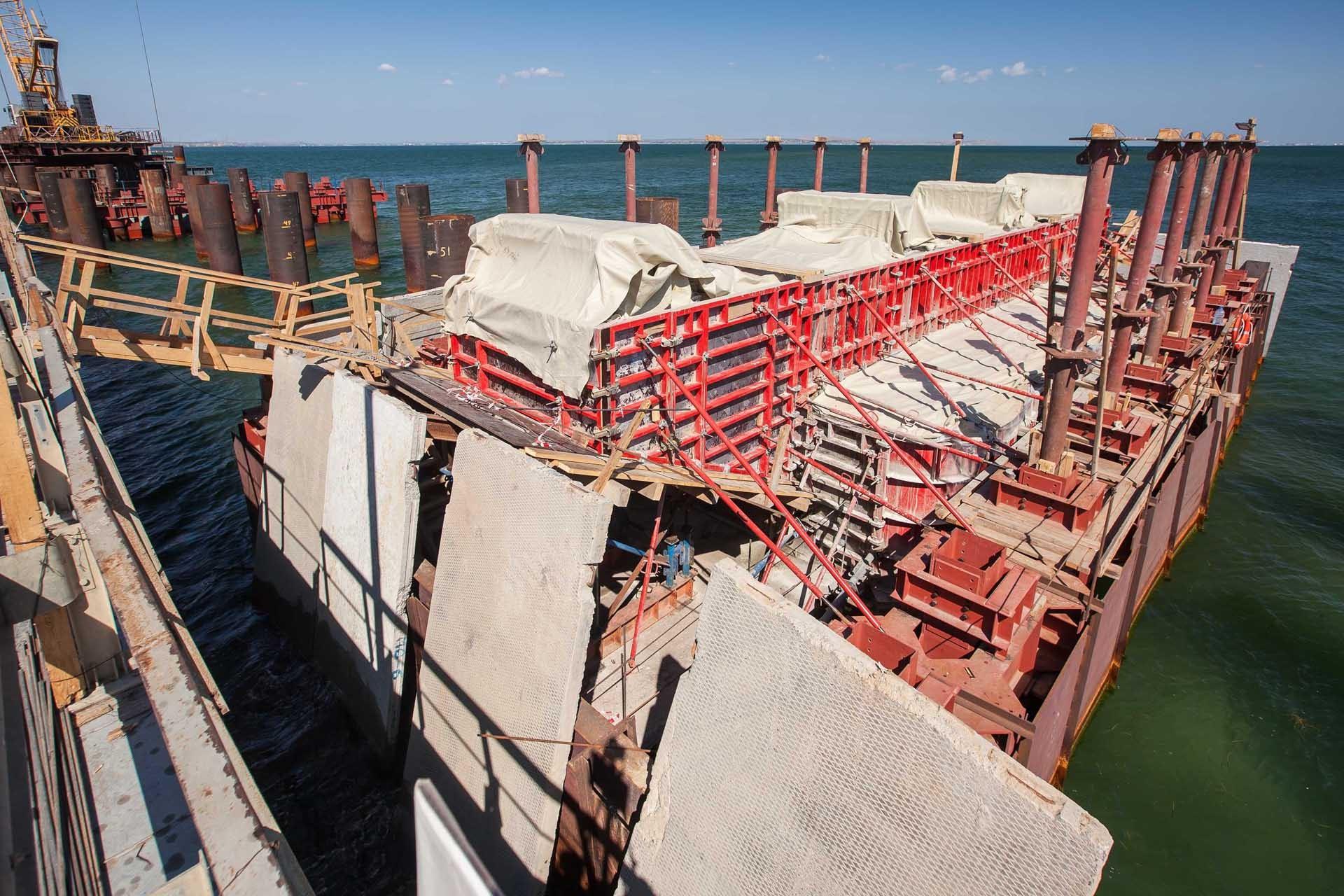 ход строительства керченского моста фото скакалке