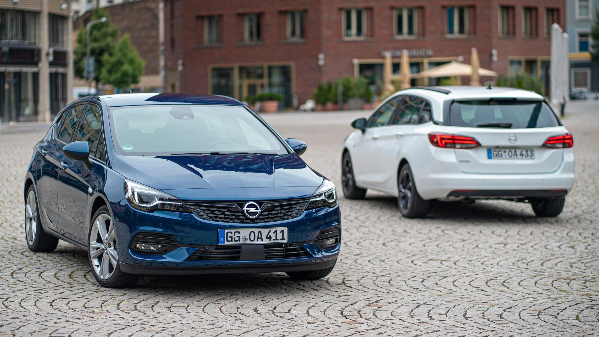 Новая Opel Astra: модный передок в стиле Mokka и топ-версия с полным приводом