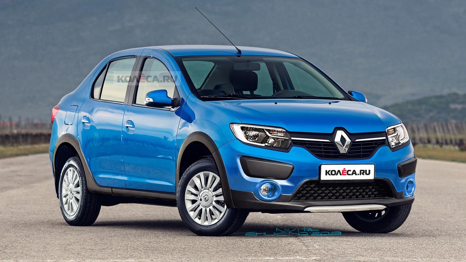 Renault Logan cross front2