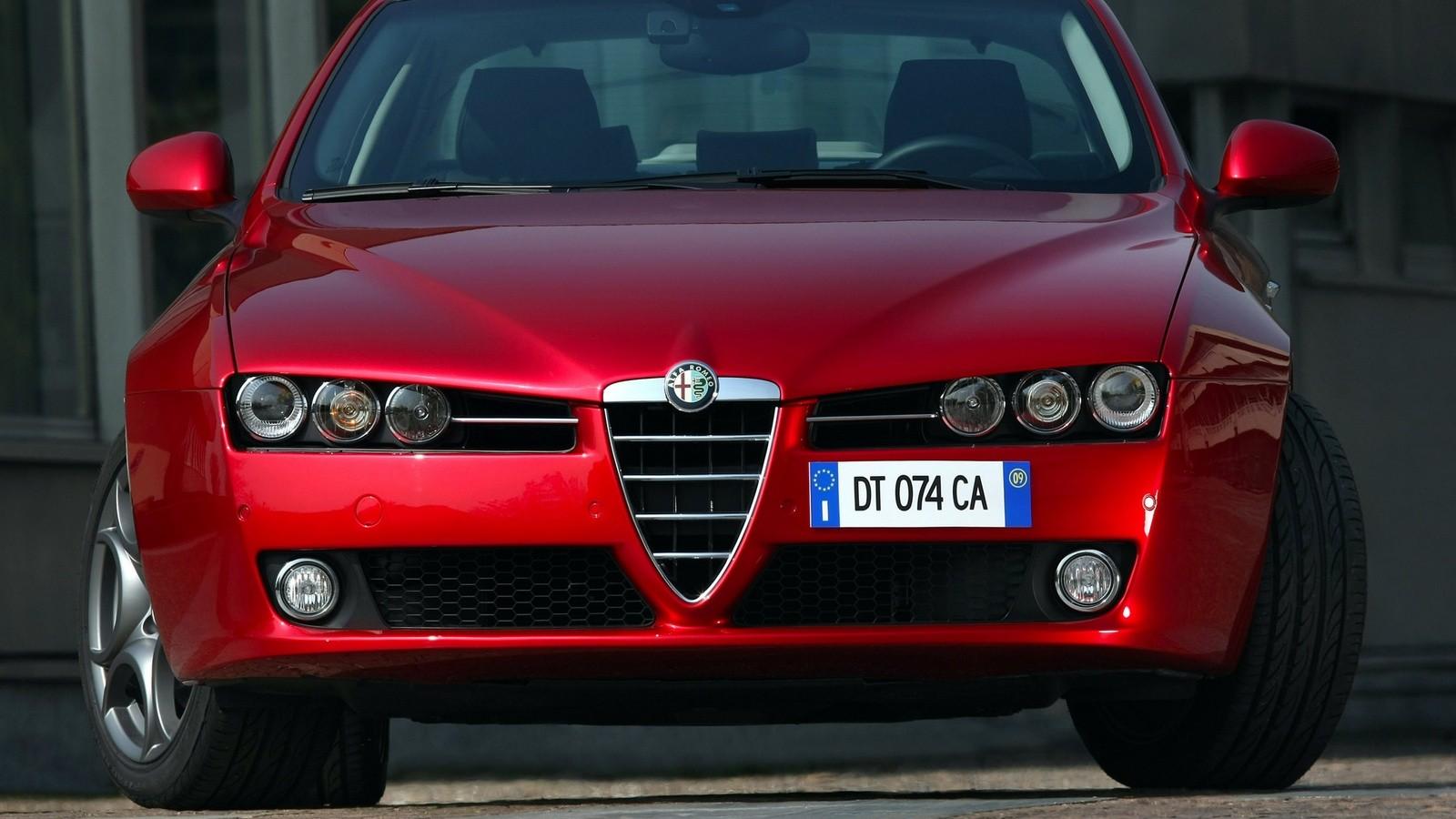 На фото: Alfa Romeo 159 '2008–11