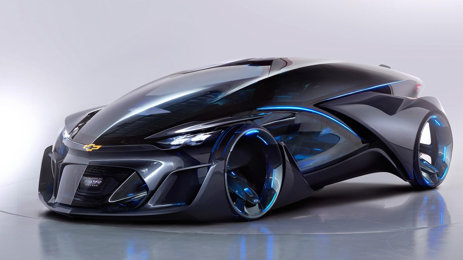 На фото: Chevrolet FNR Concept '2015. FNR расшифровывается как Find New Road (поиск новых дорог и направлений)