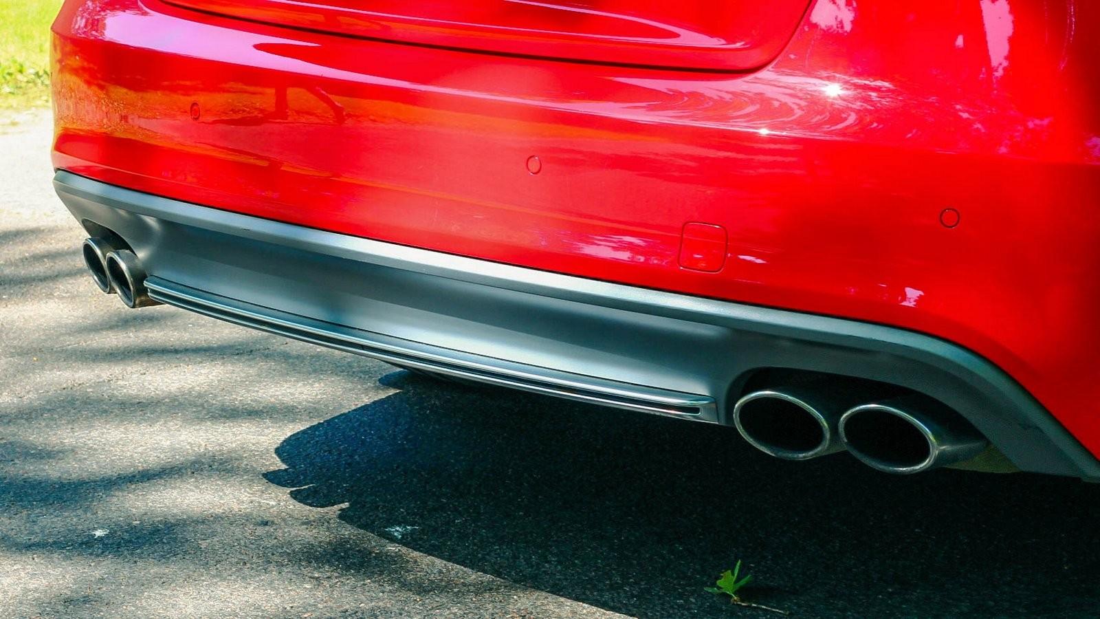 Audi A5 Sportback выхлоп