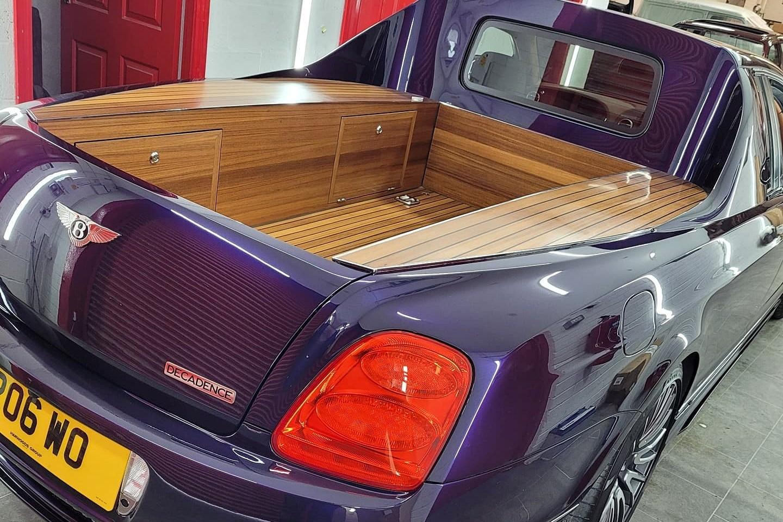За гранью допустимого: Bentley Continental Flying Spur превратили в пикап