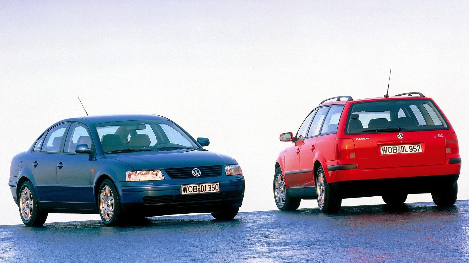 Volkswagen Passat 1996 г.