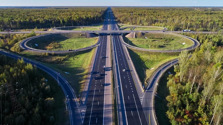 На платной трассе М-4 продолжается реконструкция: идёт строительство обхода Краснодара