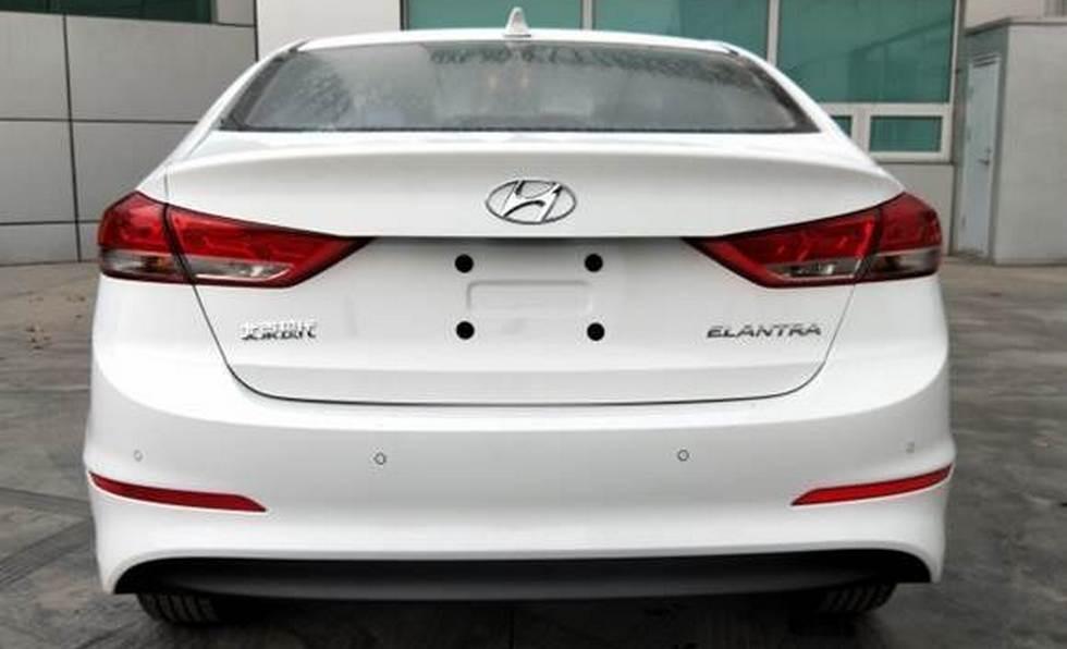 Обновленная Hyundai Elantra для Китая