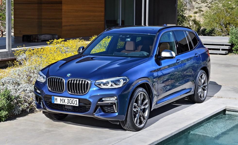 BMW X3 M40i 2017