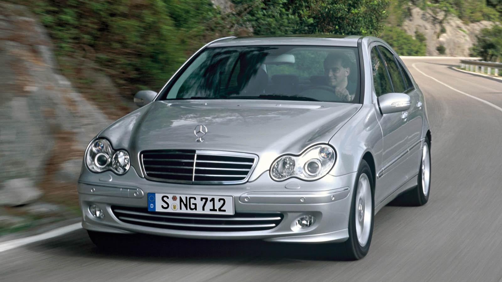 Mercedes-Benz C 350 (W203) '2004–07 с мотором M272