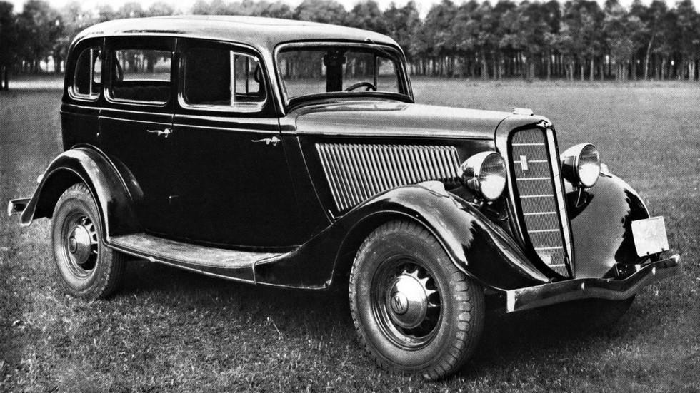 На фото: ГАЗ М1 '1936–1943