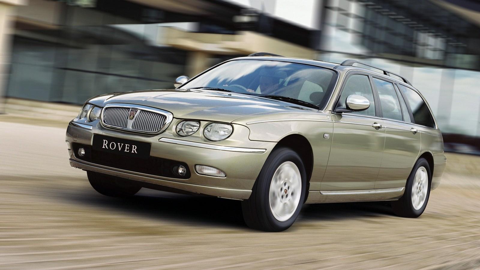 Rover 75 Tourer UK-spec '2001–03