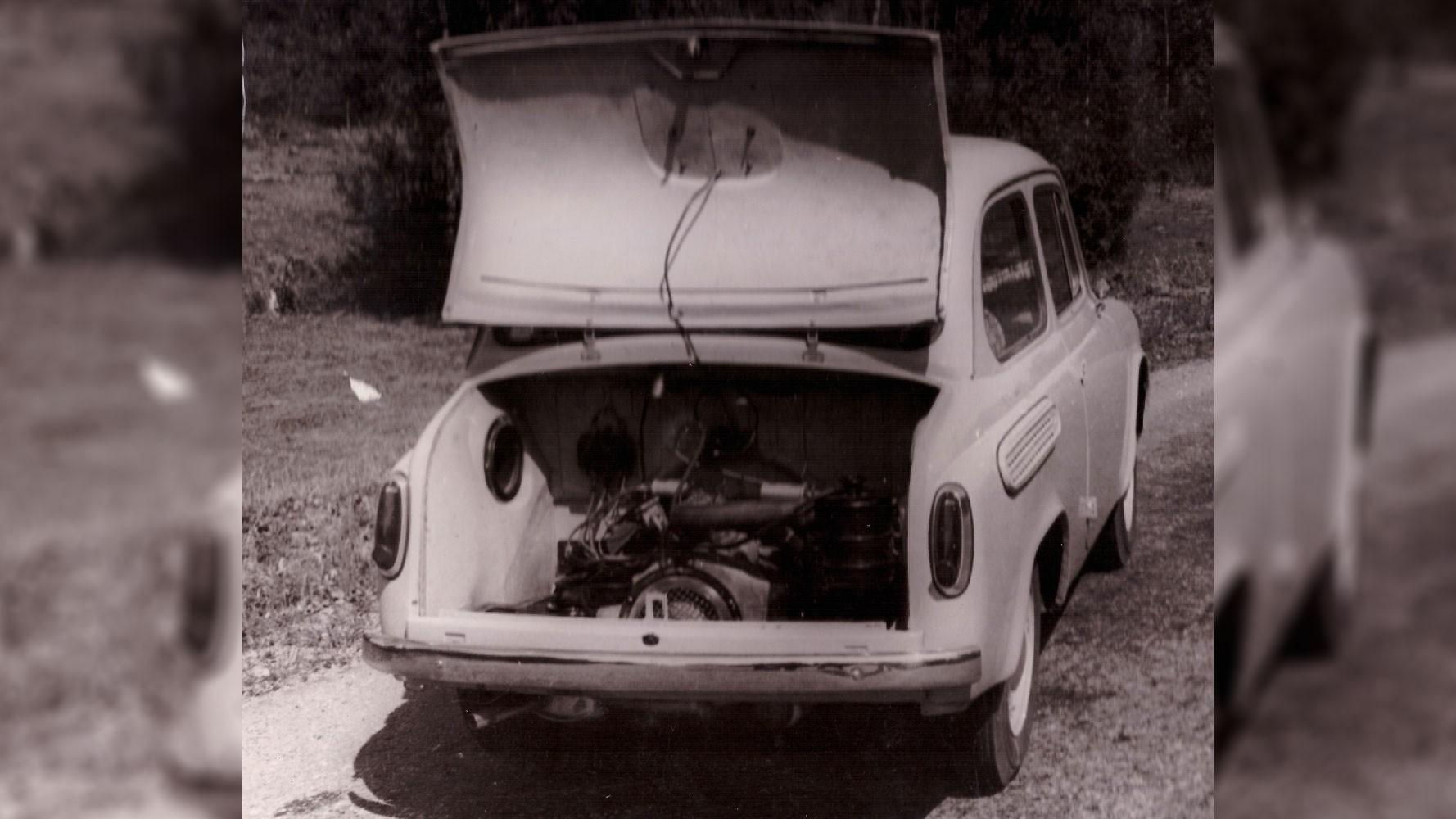 Москвич-965 с оппозитным-двигателем