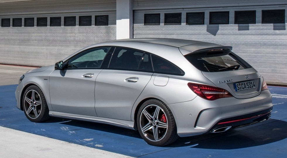 Mercedes-Benz CLA Shooting Brake актуального поколения