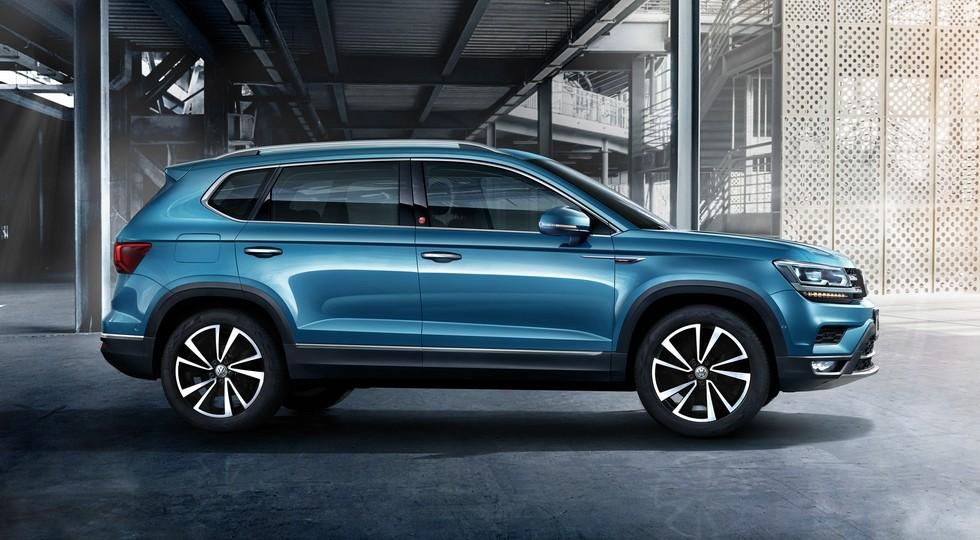 Volkswagen Tharu для Китая