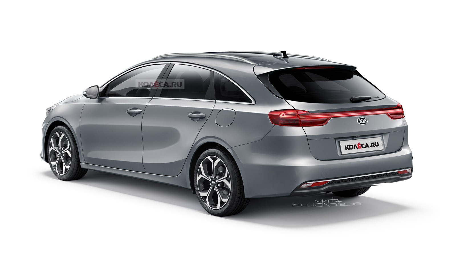 Kia Proceed rear1