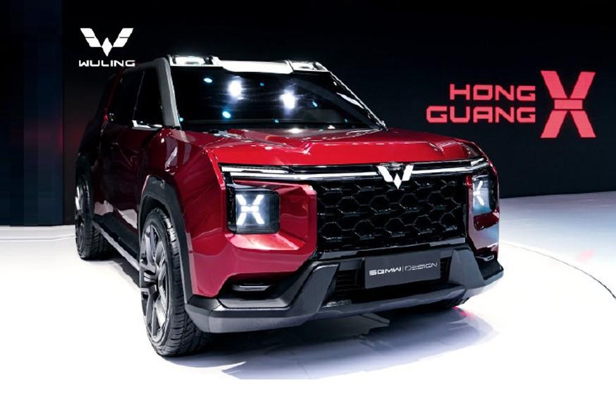 Новый китайский кроссовер: раскрыт Wuling Hongguang X
