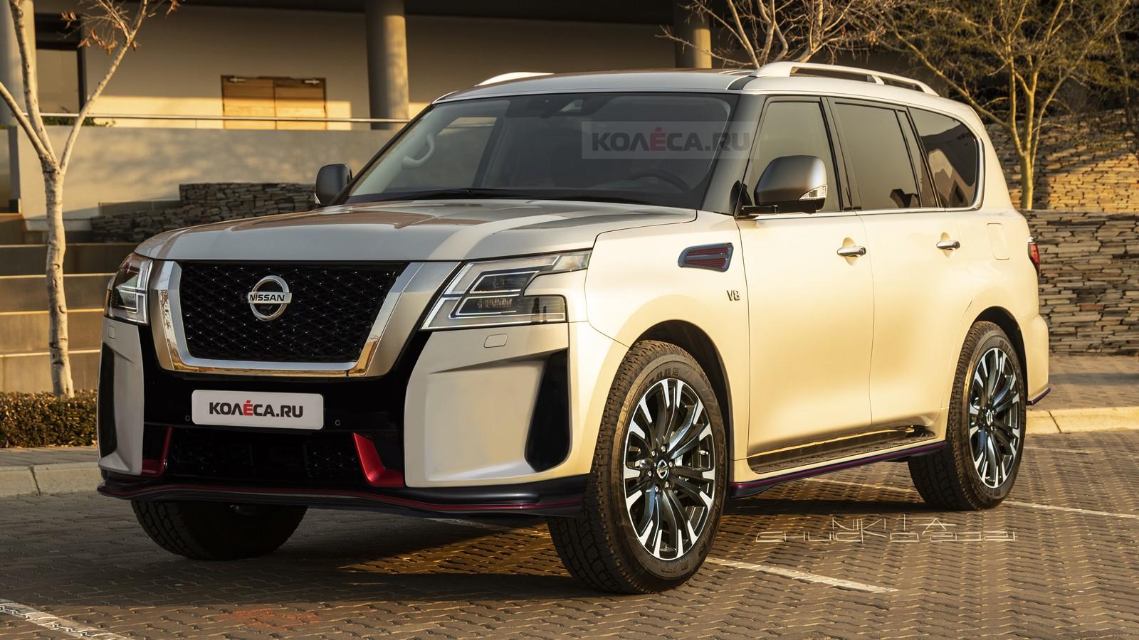 Новый «заряженный» Nissan Patrol Nismo: первые изображения