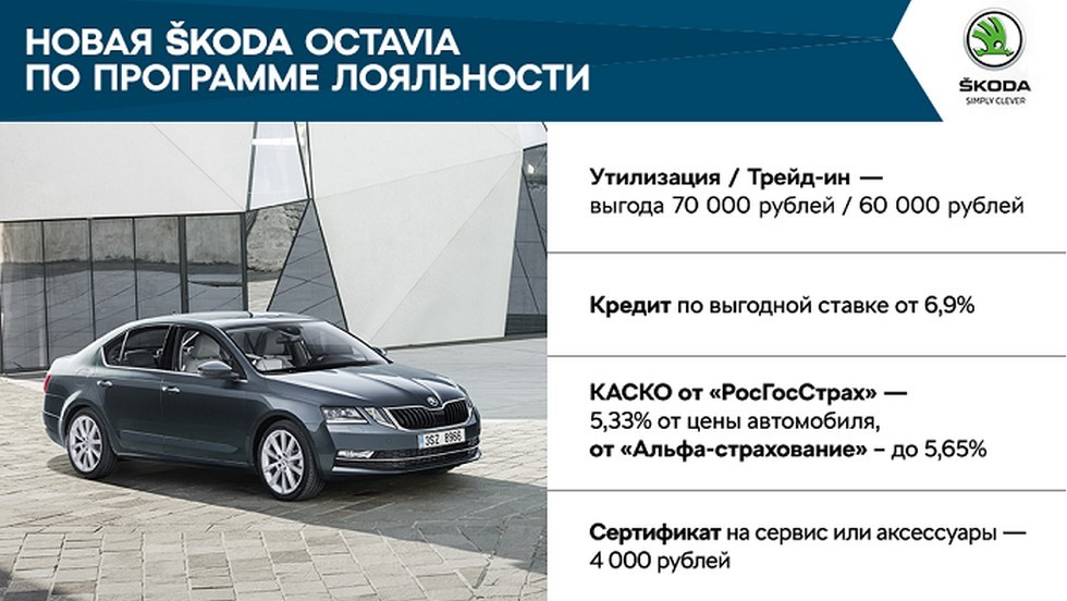 Специальные предложения для владельцев SKODA в апреле  (4)