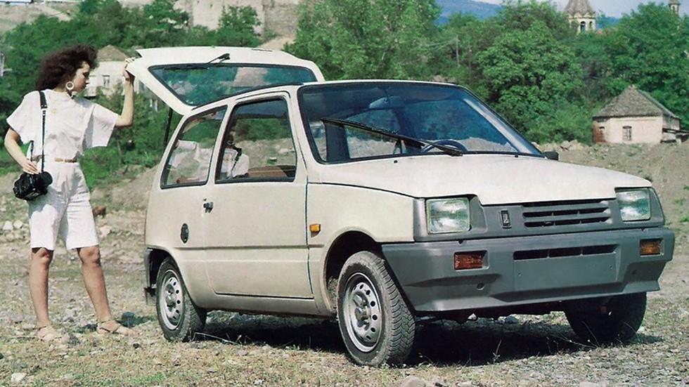 На фото: ВАЗ-1111 Ока. СССР, 1986