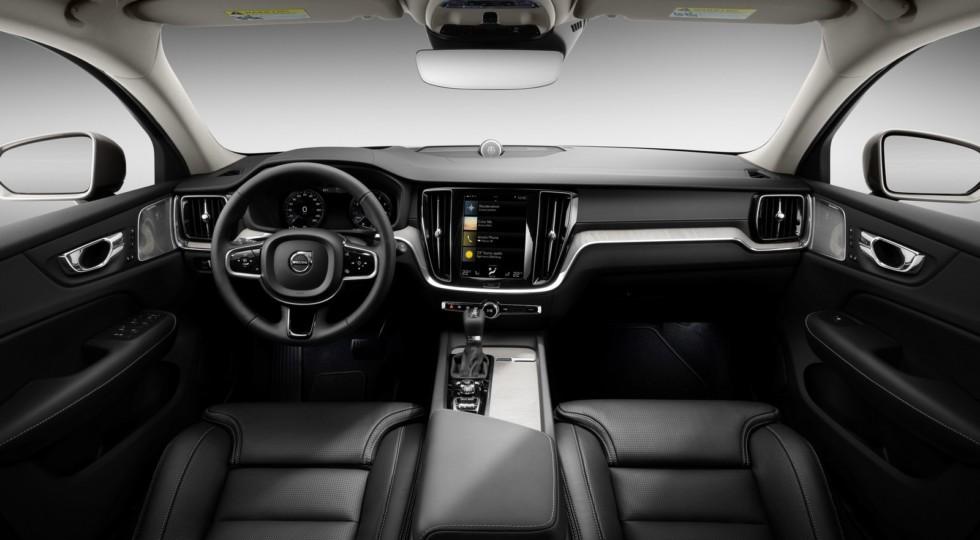 New Volvo V60 interior