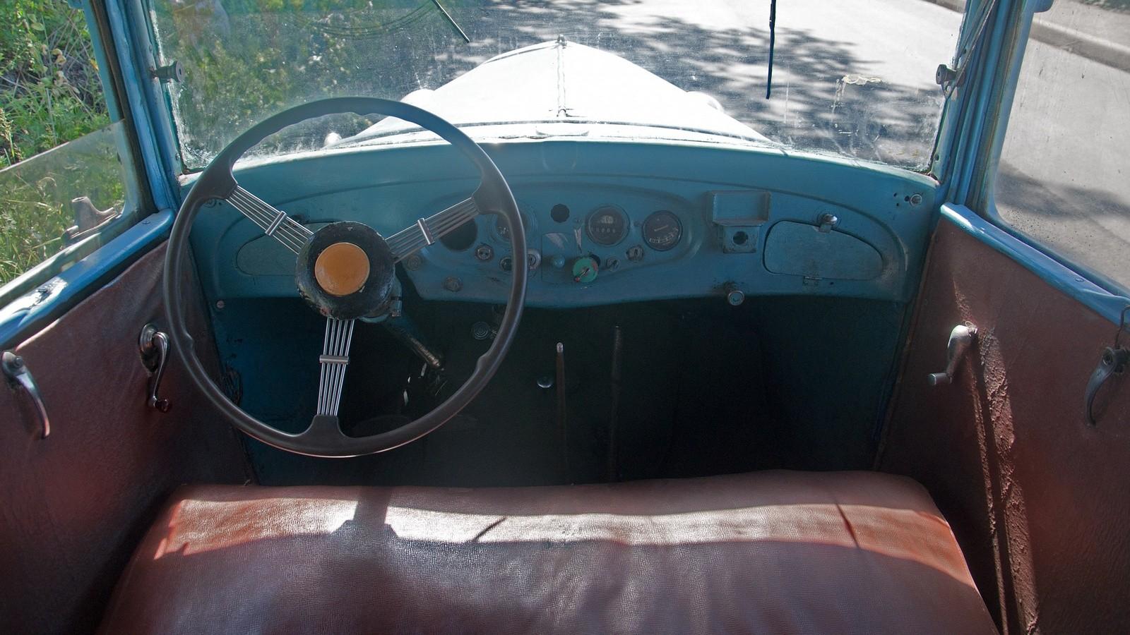 ГАЗ-6 салон