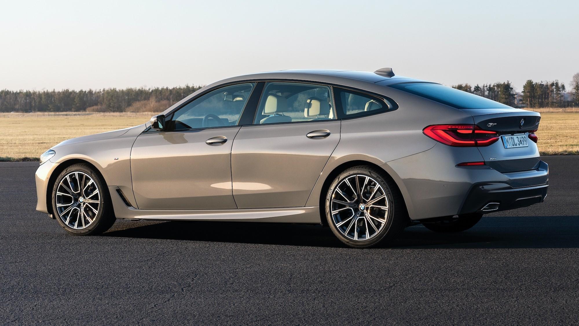 Обновлённая BMW 6 Series GT: купеобразный лифтбек не стали подключать к розетке