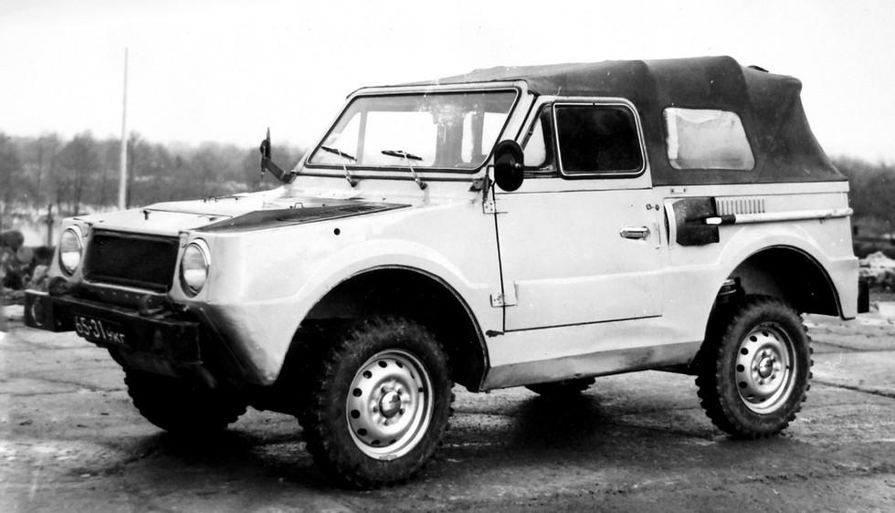 Легкая плавающая машина ВАЗ-2Э2122 второй серии (из архива НИИЦ АТ)