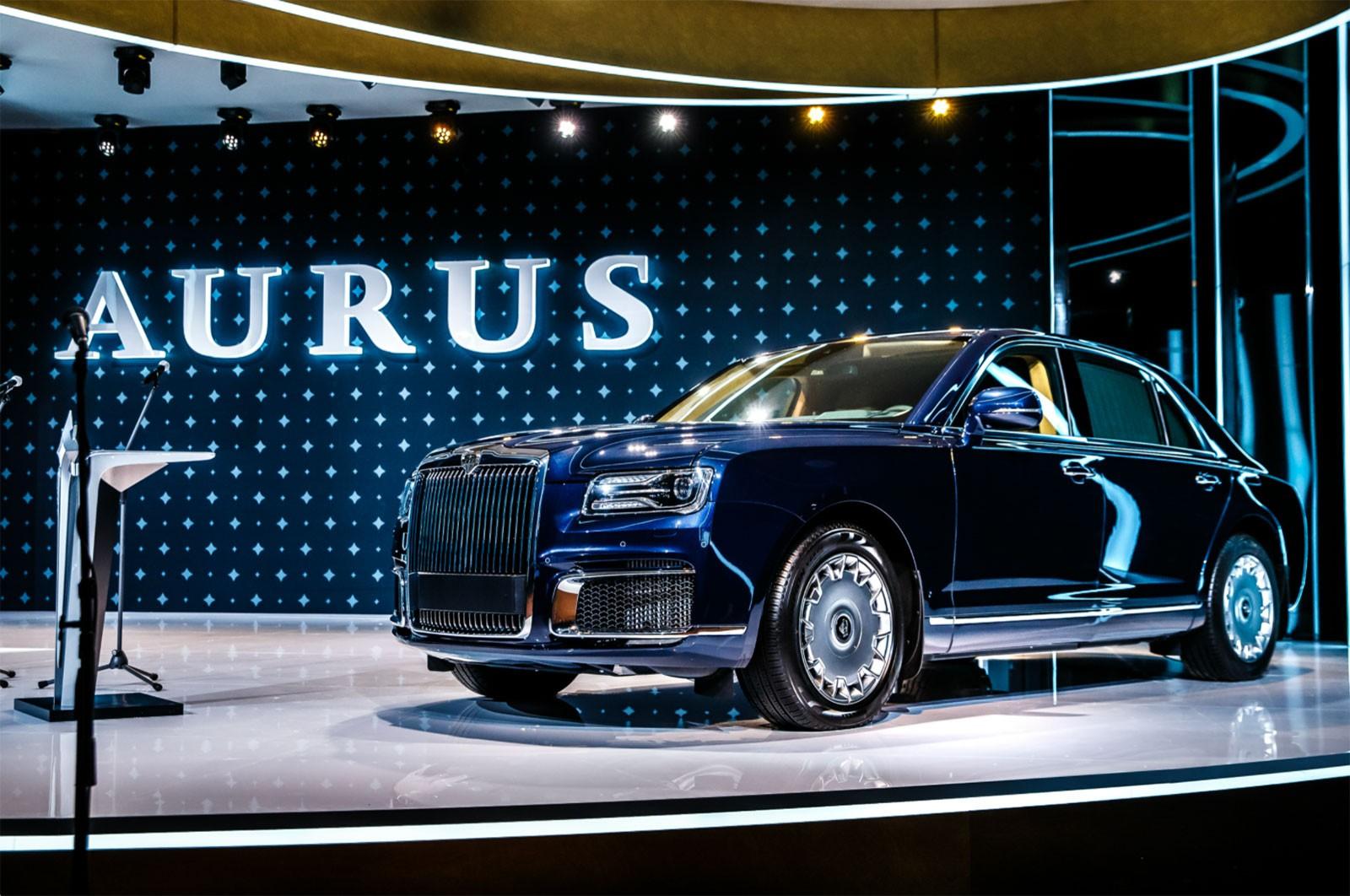 Kama Tyres представила новые шины для проекта «Единая модульная платформа» на презентации Aurus