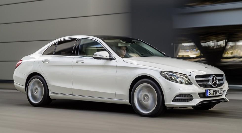 На фото: Mercedes-Benz C-Class'2014–н.в.