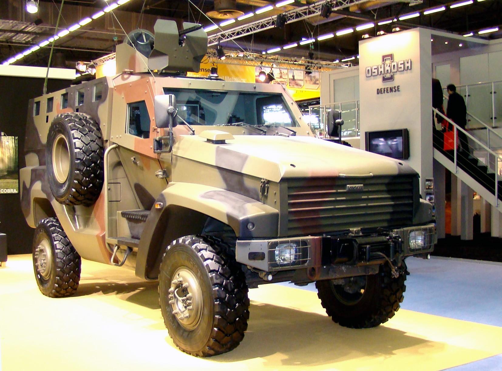 Второй вариант машины Kaya с обновленным бронекорпусом. 2010 год