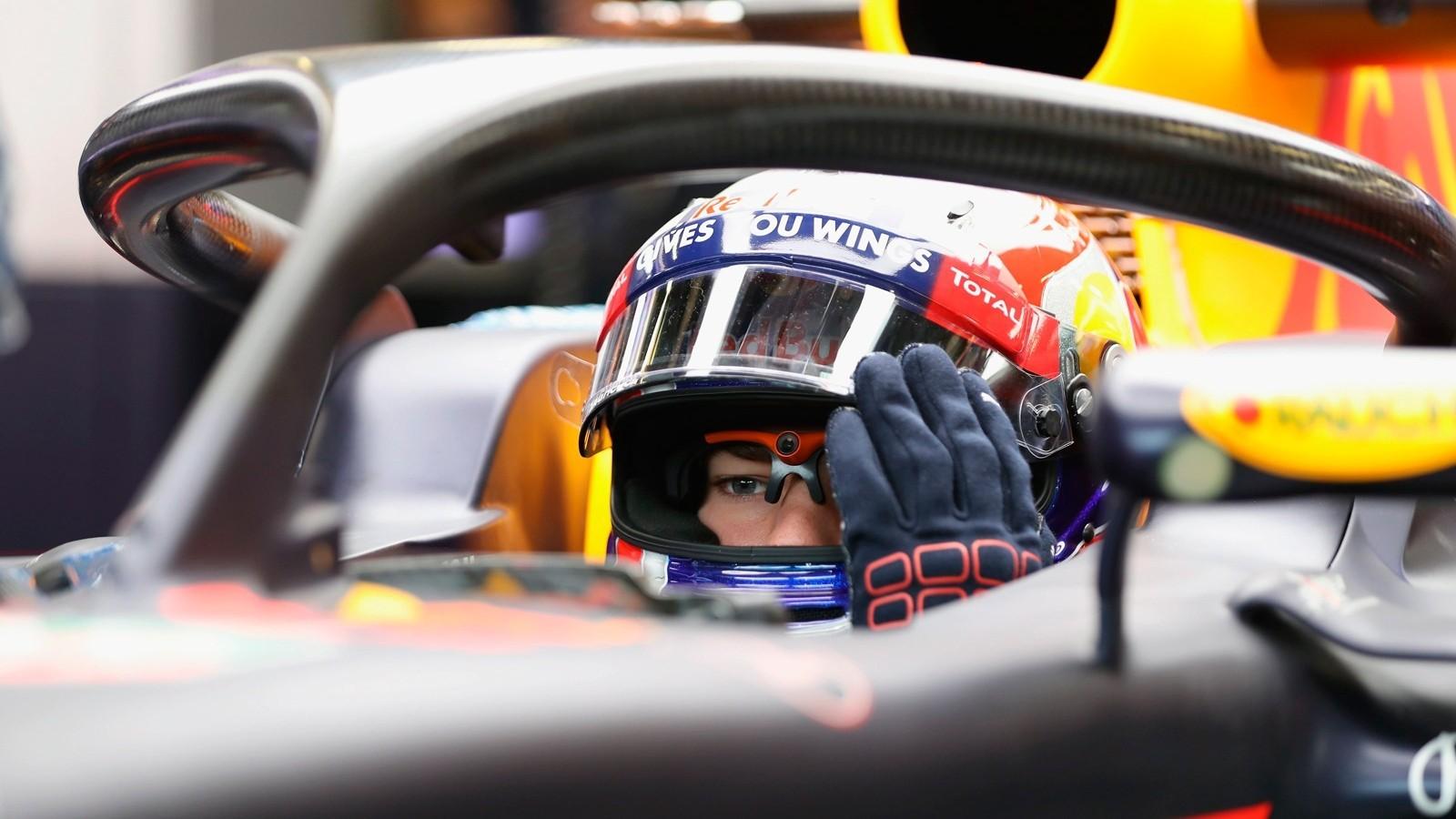В Red Bull приостановили работу над своей системой Aeroscreen