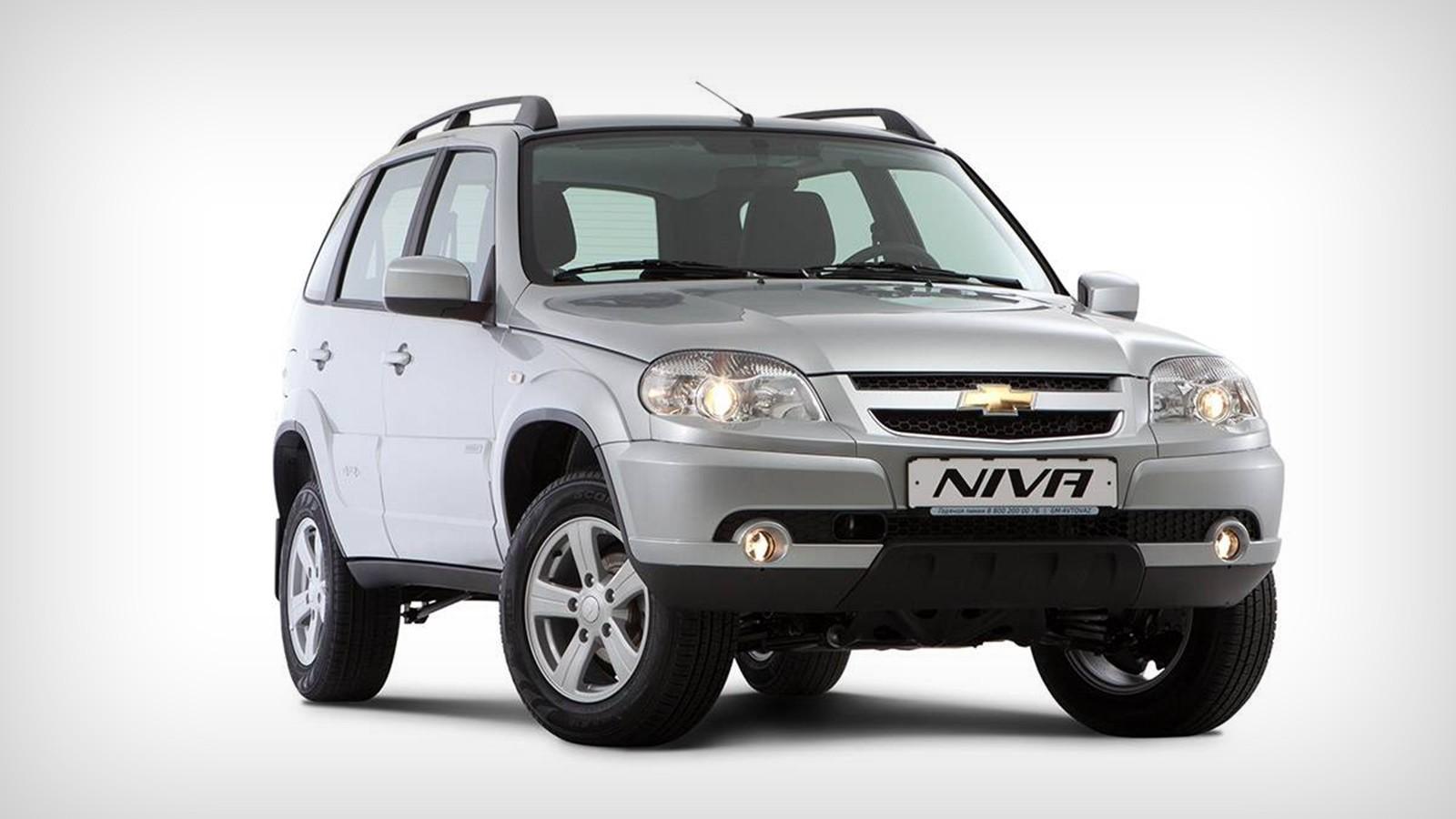 На фото: текущее поколение Chevrolet Niva