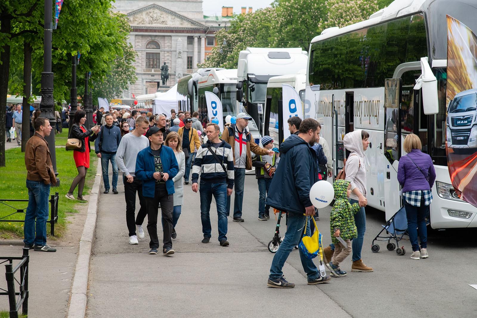 В Петербурге во второй раз пройдет международный транспортный фестиваль