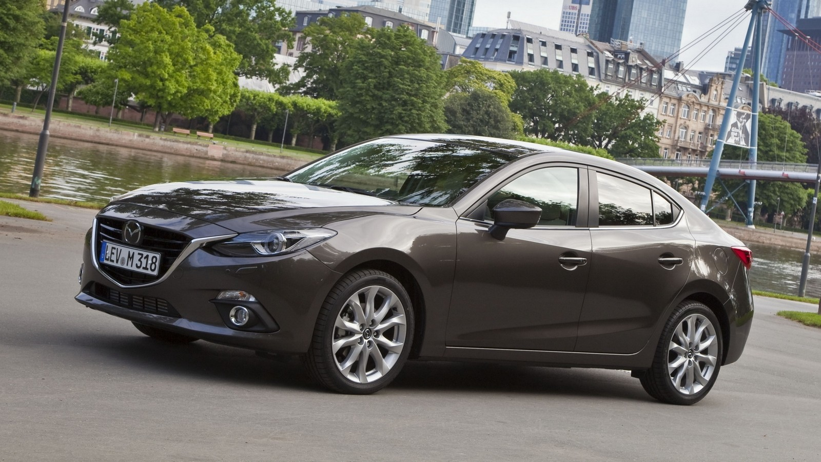 На фото: Mazda3 Sedan Worldwide (BM) '2013–н.в.