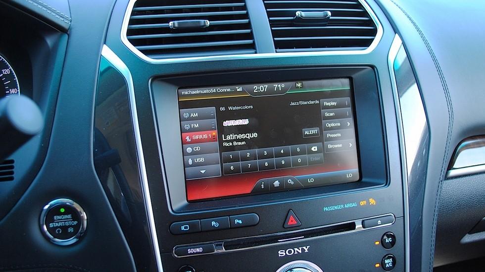 Радио тюнер в автомобиль