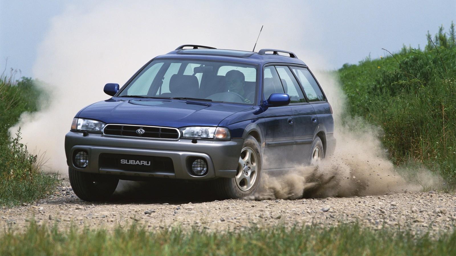 На фото: Subaru Legacy Outback (BG) '1995–99