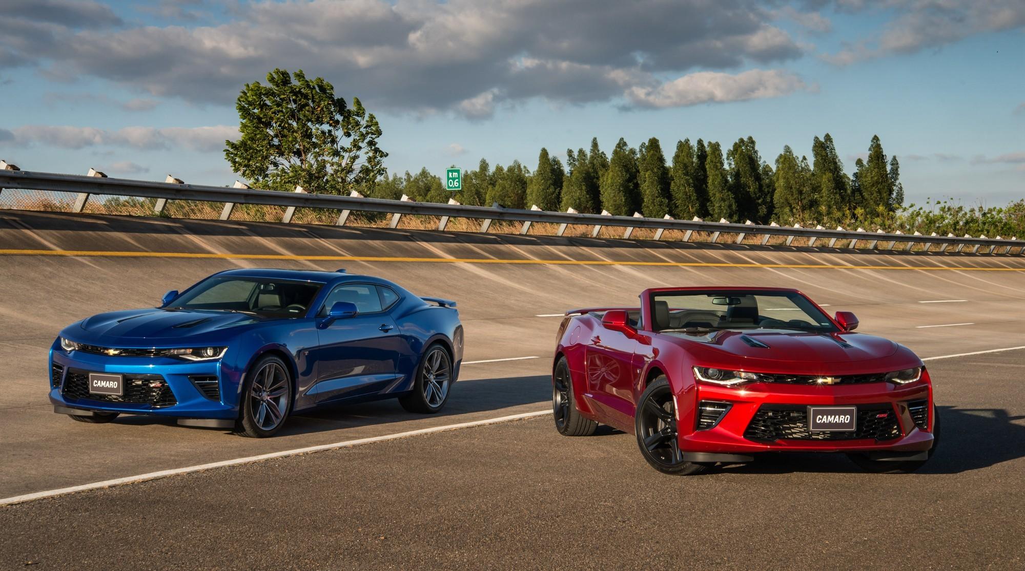 На смену бензиновому спорткару Chevrolet Camaro придёт электрический седан