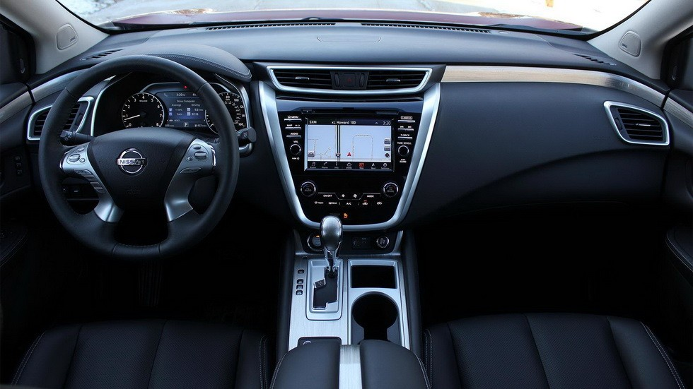 Текущая версия Nissan Murano