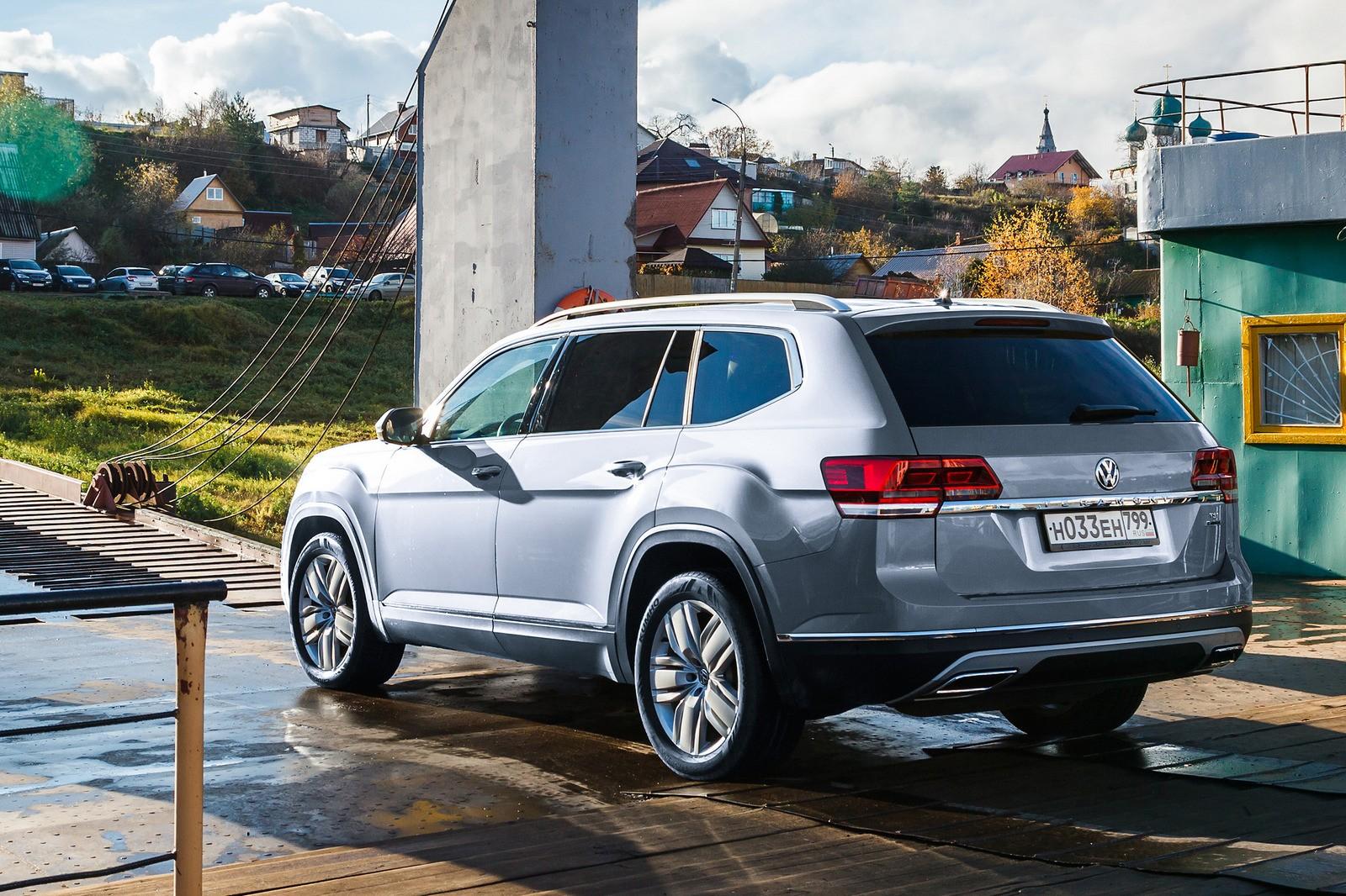 Volkswagen опроверг уход кроссовера Teramont из России