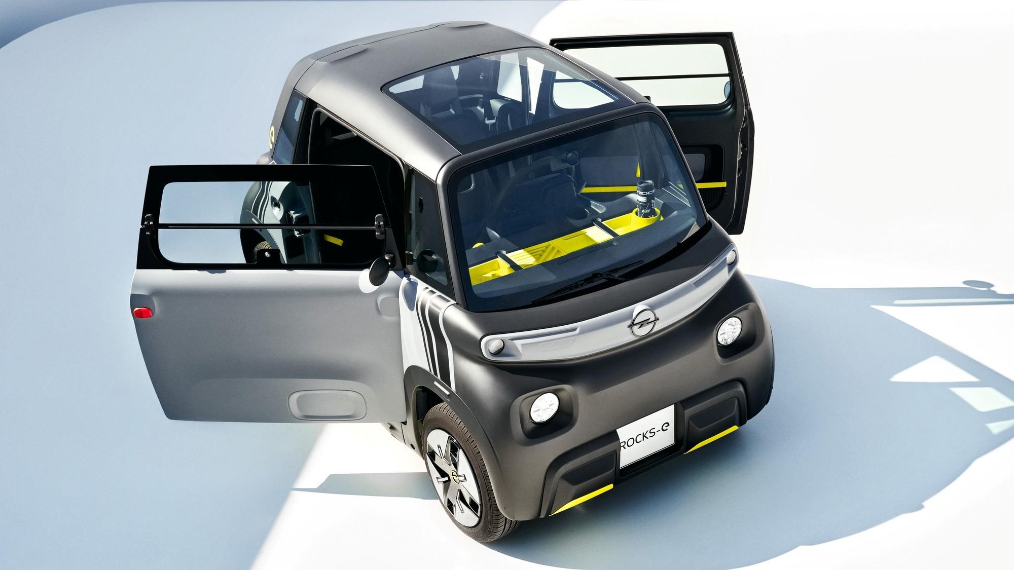 Дешевле некуда: Opel Rocks-e нацелился на европейскую молодёжь