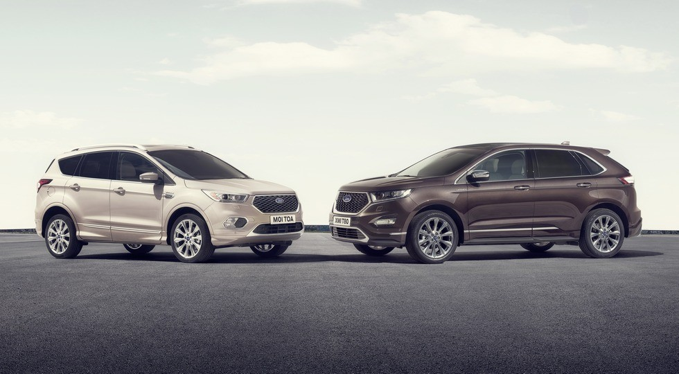 Ford Kuga Vignale + Ford Edge Vignale