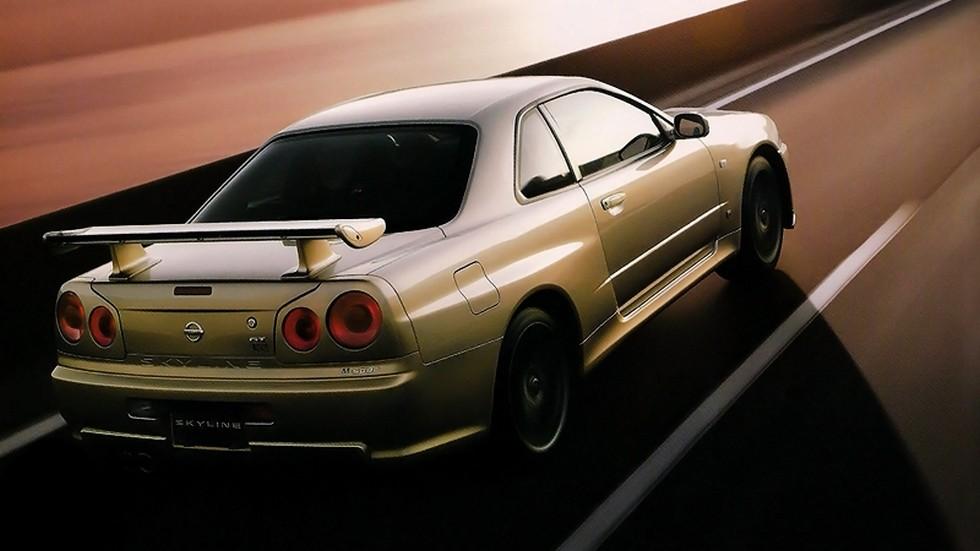 Nissan Skyline GT-R M-Spec Nür (BNR34) '02–08.2002
