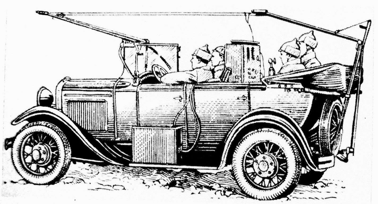 армейские легковушки СССР 3